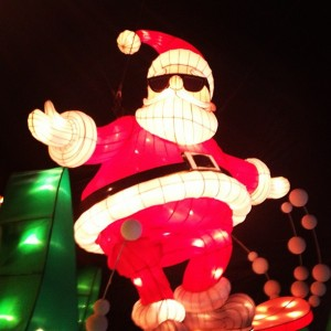santa at kalightoscope
