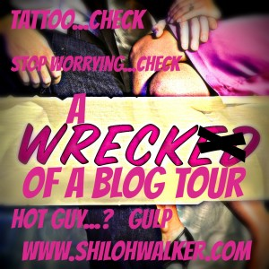 Wreck of a blog tour