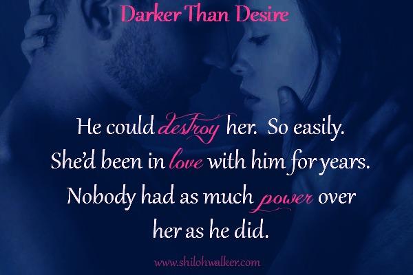 Darker Than Desirepromo