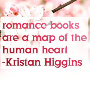 romance books are a map of the human heart