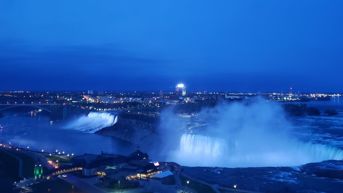 Niagara Falls at Twilight