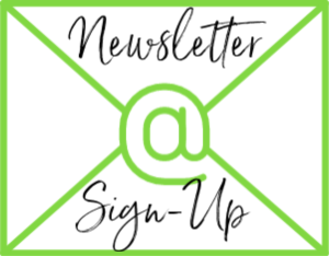"Envelope with @ symbol on it. Text reads ""Newsletter Sign Up"""