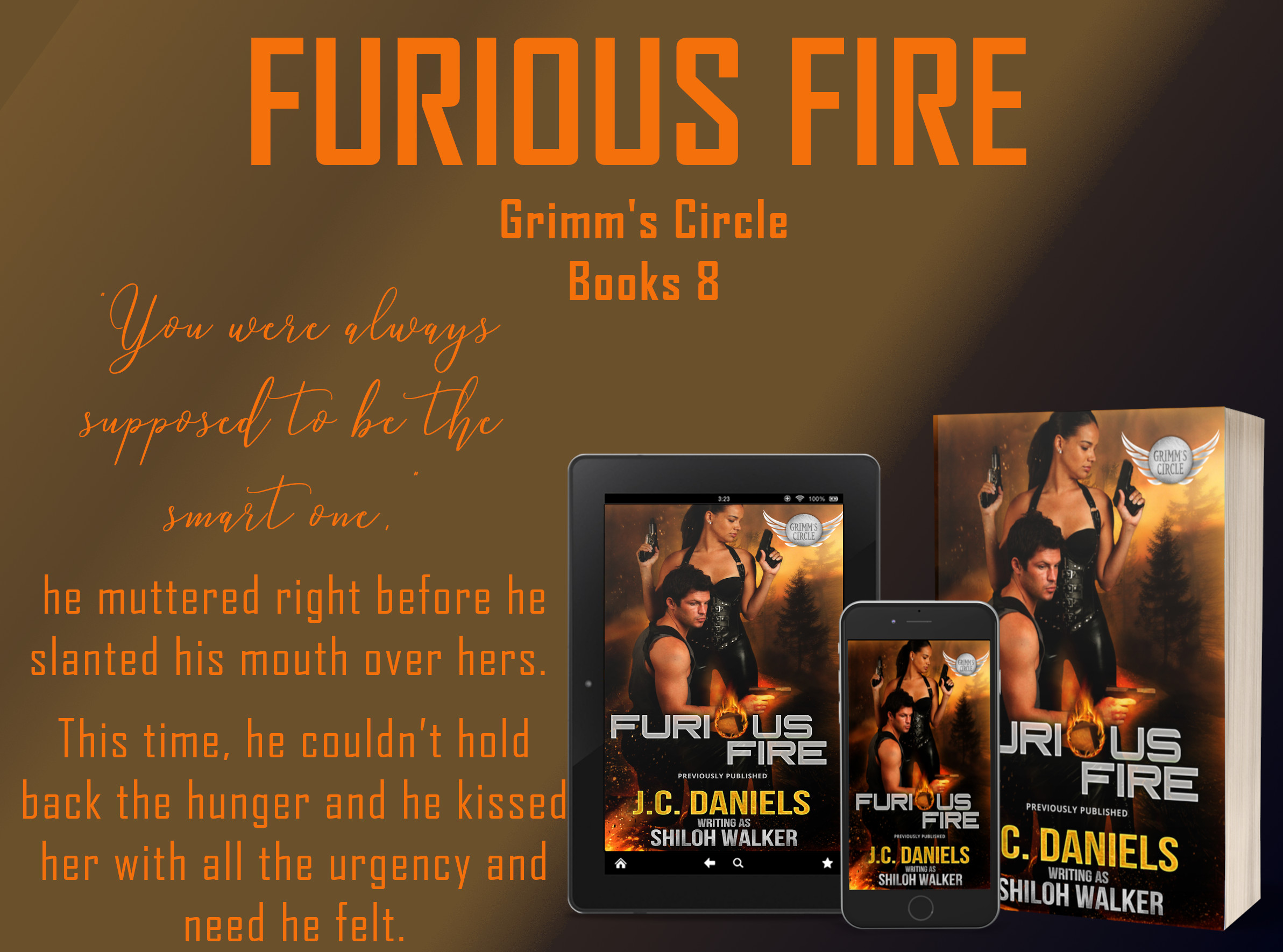 furious fire promo graphic, fairy tale retellings