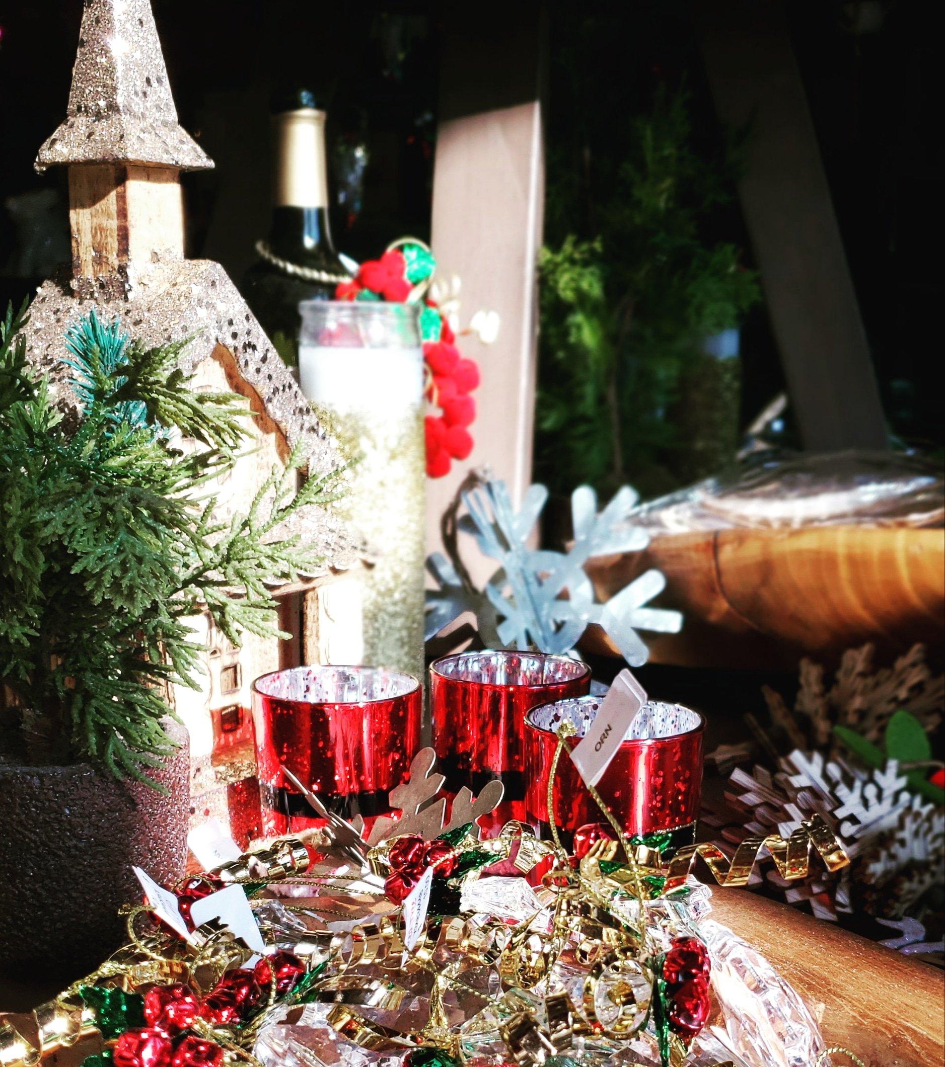 Church & Christmas decor
